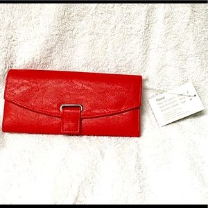 Gunther Mele Fiona - Red Jewelry Wallet